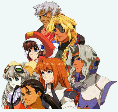 Xenogears Part Cast