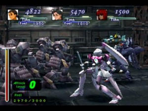 Xenogears Gear battle