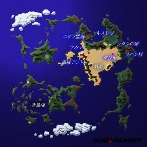 Xenogears world map