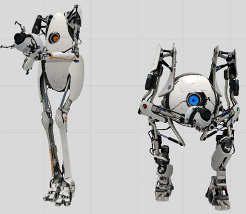 Portal 2 ATLAS and P-Body