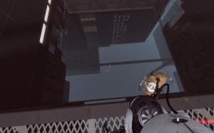 Portal 2 Look Down