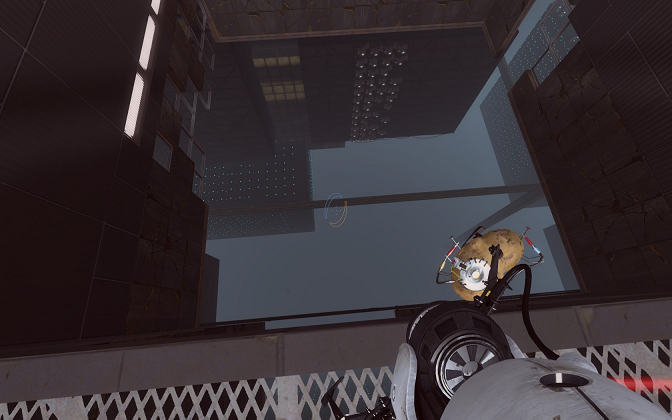 Portal 2 Look Down