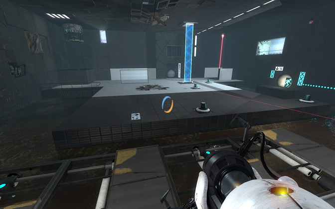 Portal 2 Puzzle Room