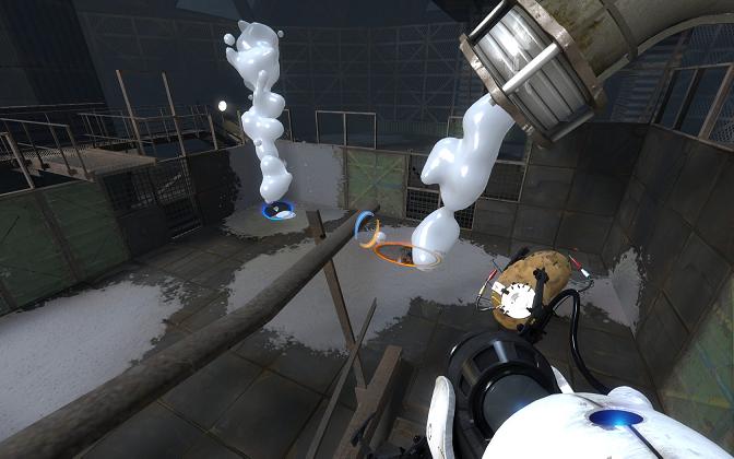 Portal 2 White Gel