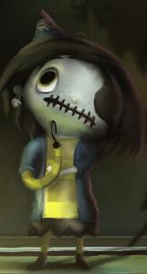 Scarygirl Art