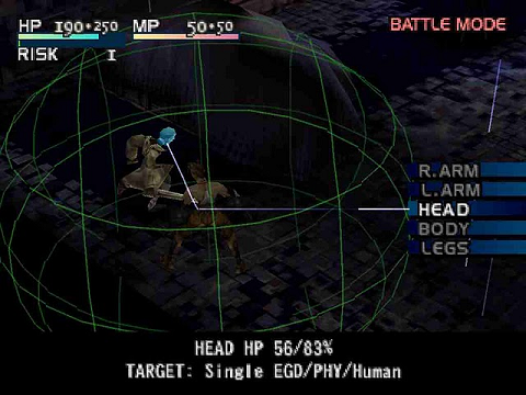 Vagrant Story Battle