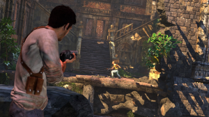 Uncharted Drake Shooting