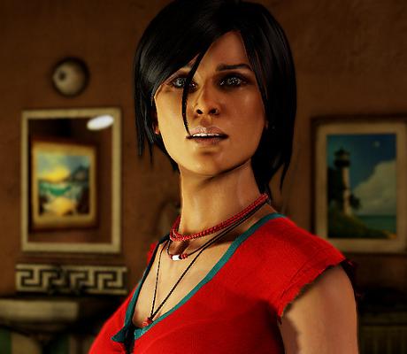 Uncharted 2 Chloe