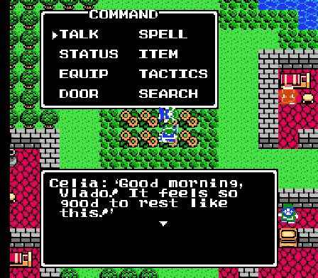 Dragon Quest IV Celia