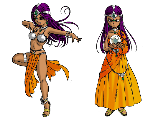 Dragon Quest IV Mara Nara