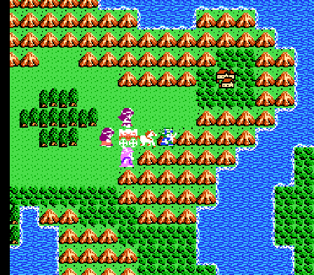 Dragon Quest IV Overworld