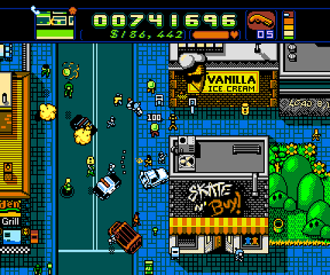 Retro City Rampage Street