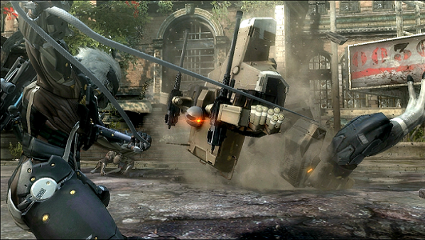 Metal Gear Rising Revengeance Fighting Gekko