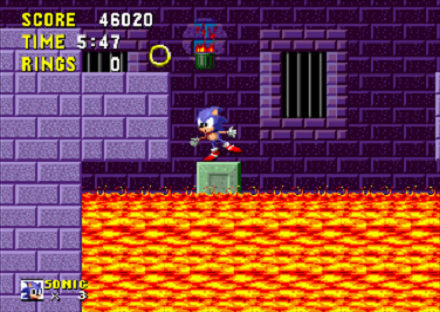Sonic the Hedgehog Lava