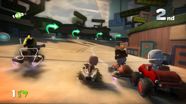 LittleBigPlanet Karting Race