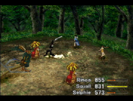 Final Fantasy VIII Battle