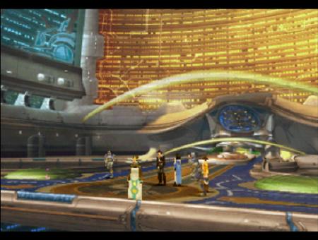 Final Fantasy VIII Esthar