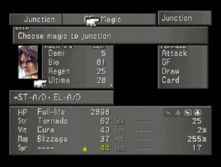 Final Fantasy VIII Junction