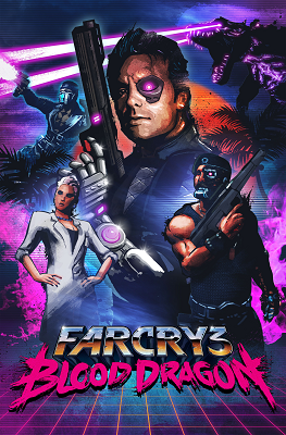 Far Cry 3 Blood Dragon Cover