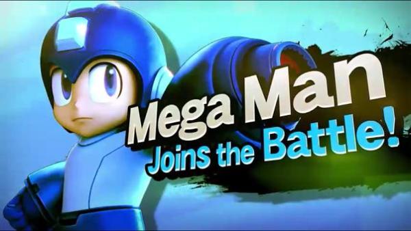 Smash Bros Mega Man Joins