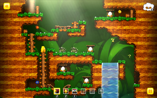 Toki Tori Forest Falls Level