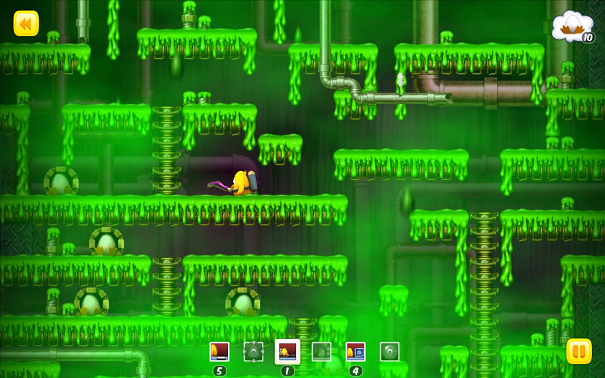 Toki Tori Slimy Sewer Weapon