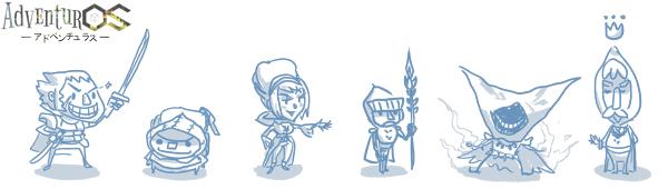 AdventurOS Characters