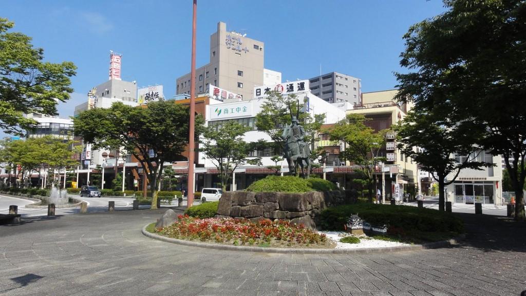 Hikone Daimyo Statue