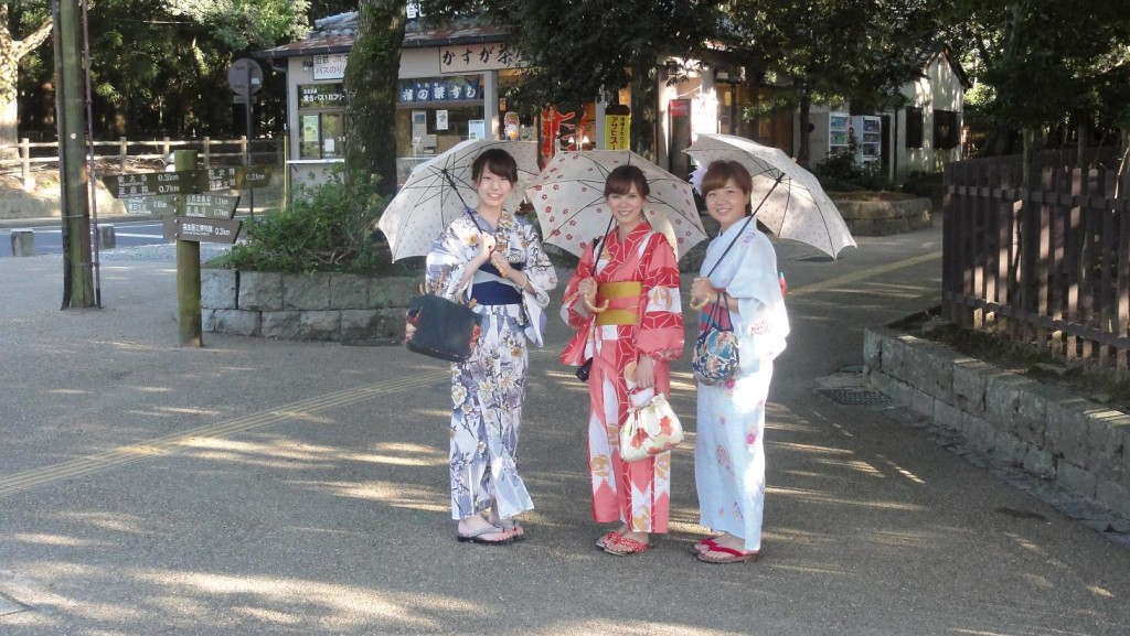 Nara Kimono Girls