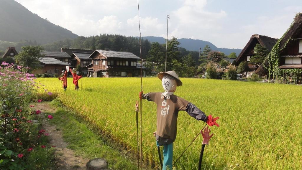 Ogimachi Scarecrows