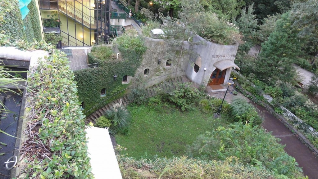 Ghibli Museum Top View