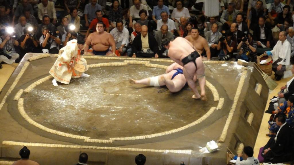 Sumo Kotooshu Aoiyama