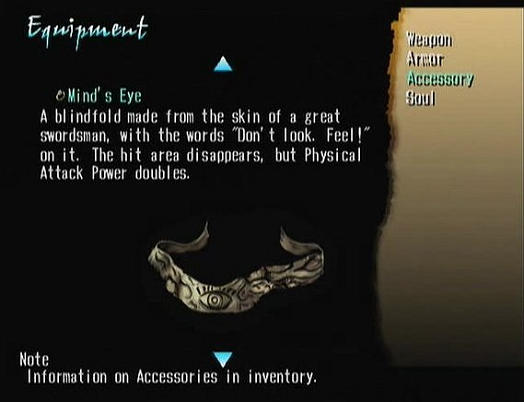 Shadow Hearts Item Description