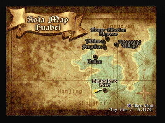 Shadow Hearts Map