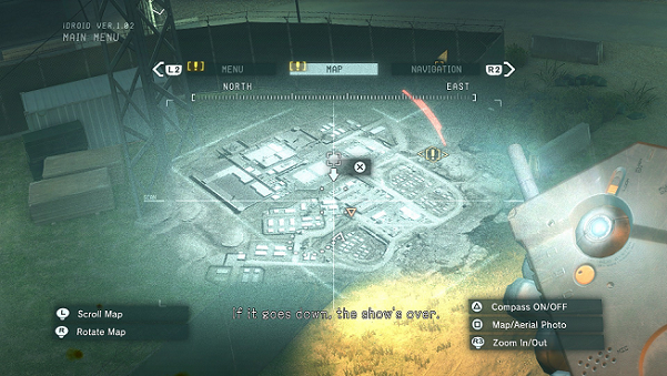 Ground Zeroes Camp Omega Map