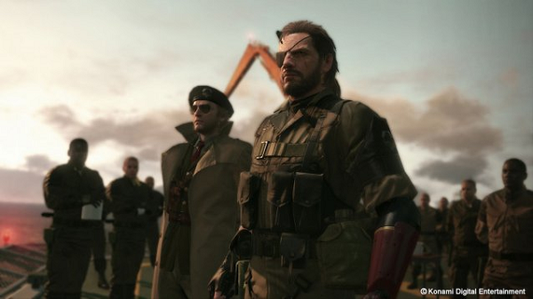 E3 2014 Metal Gear Solid V
