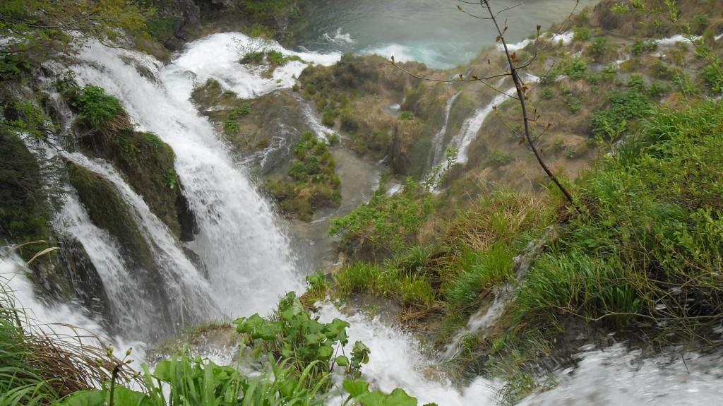 Plitvicka Jezera Waterfalls From Above