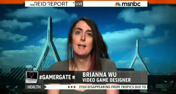 Brianna Wu MSNBC
