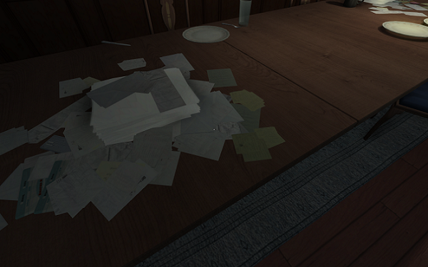 Gone Home Clutter