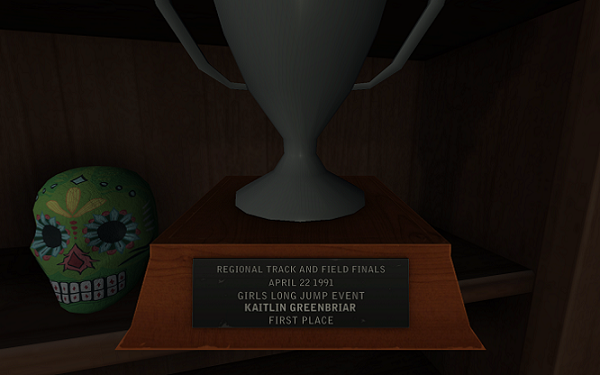 Gone Home Kate's Trophy