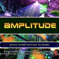 Amplitude Start Screen