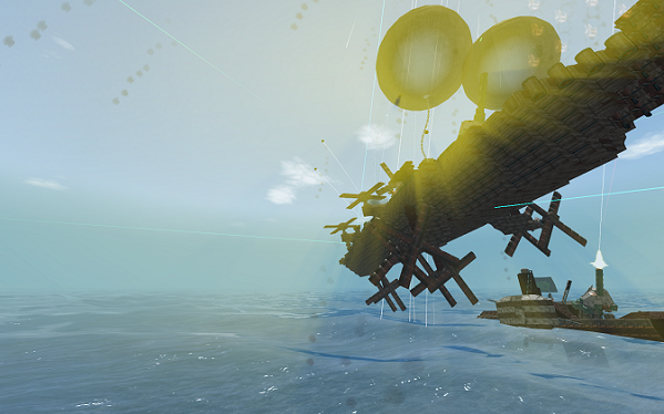 From the Depths Airship Battle