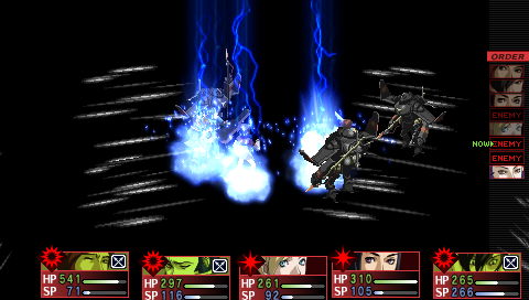 Persona 2 Boss Battle