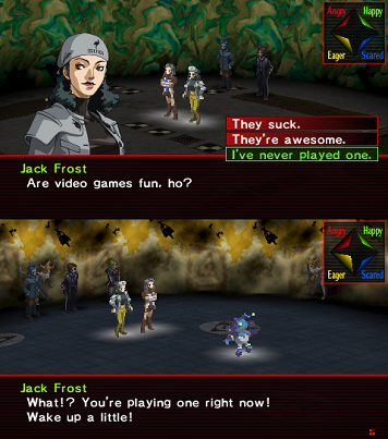 Persona 2 Demon Negotiation
