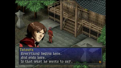 Persona 2 Tatsuya Determined