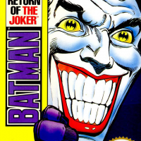 Batman Return of the Joker Cover