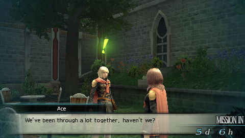 Final Fantasy Type-0 Ace Talk