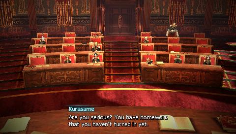Final Fantasy Type-0 Classroom