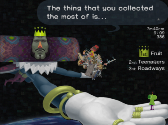 Katamari Damacy Size