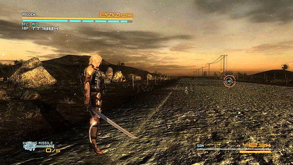 Metal Gear Rising Revengeance Deserted Road